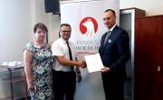 po podpisaniu umowy na doposażenie jednostek OSP gminy Barlinek